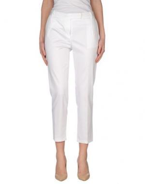 Повседневные брюки EMISPHERE. Цвет: белый
