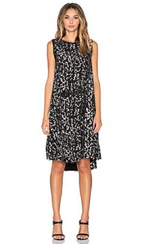 Платье Enza Costa. Цвет: black & white