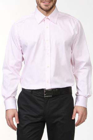 Рубашка REIKARTZ. Цвет: белый, розовый