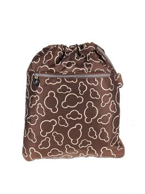 Рюкзак Happy Charms Family. Цвет: коричневый, белый