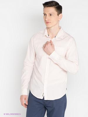 Рубашка Mezaguz. Цвет: бледно-розовый