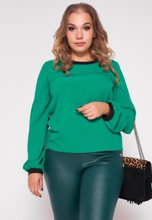 Блуза Eliseeva Olesya. Цвет: зеленый