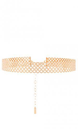 Ожерелье net joolz by Martha Calvo. Цвет: металлический золотой