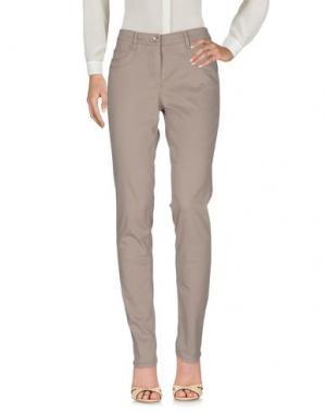 Повседневные брюки GARDEUR. Цвет: хаки