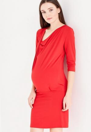 Платье Фэст. Цвет: красный