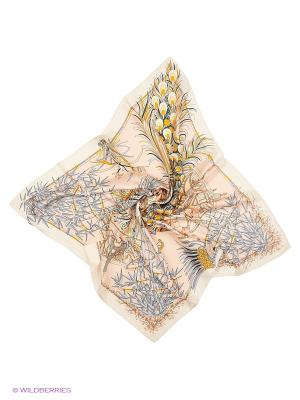 Платок Sophie Ramage. Цвет: кремовый, бледно-розовый, бронзовый
