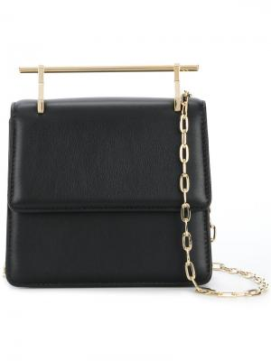 Структурированная сумка M2malletier. Цвет: чёрный