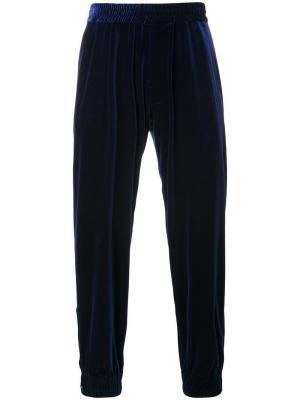 Спортивные брюки Myne. Цвет: синий