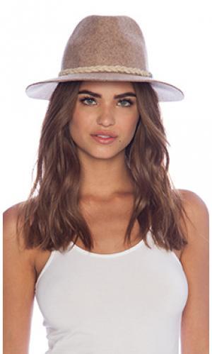 Шляпа san miguel Lovely Bird. Цвет: серо-коричневый