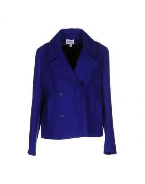 Куртка FARHI BY NICOLE. Цвет: ярко-синий
