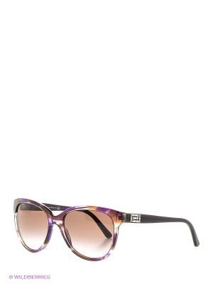 Очки солнцезащитные Versace. Цвет: лиловый