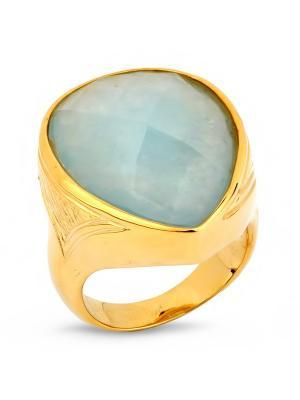 Кольцо Sandara. Цвет: золотистый