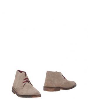 Полусапоги и высокие ботинки BRUNO'S. Цвет: голубиный серый