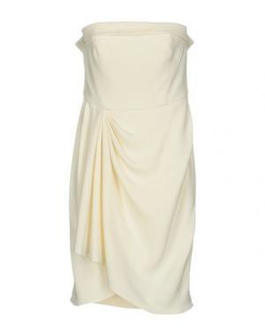 Короткое платье GAI MATTIOLO. Цвет: белый