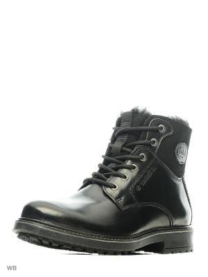Ботинки DOCKERS.. Цвет: черный