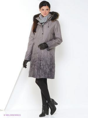 Пальто ILONA Maritta. Цвет: рыжий