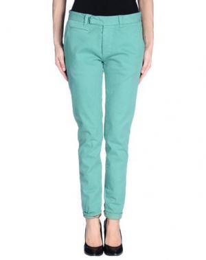 Повседневные брюки G2CHOICE. Цвет: зеленый