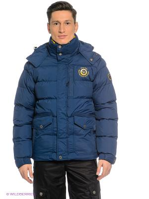 Куртка Northland Professional. Цвет: синий