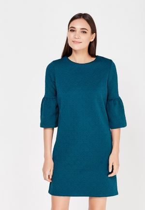 Платье Cortefiel. Цвет: бирюзовый