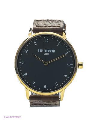 Часы Ben Sherman. Цвет: золотистый, темно-синий