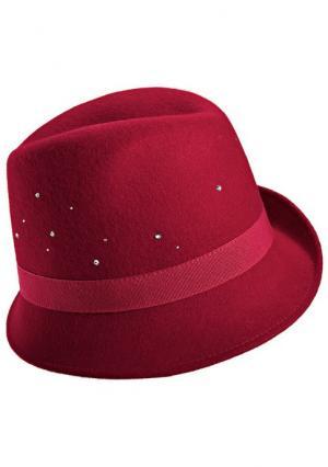 Шляпа Collezione. Цвет: красный