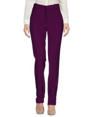 Повседневные брюки ROLAND MOURET. Цвет: розовато-лиловый