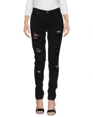 Джинсовые брюки SPACE STYLE CONCEPT. Цвет: черный