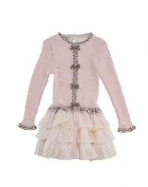 Платье BABY GRAZIELLA. Цвет: розовый