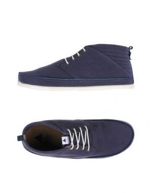 Низкие кеды и кроссовки VOLTA. Цвет: синий