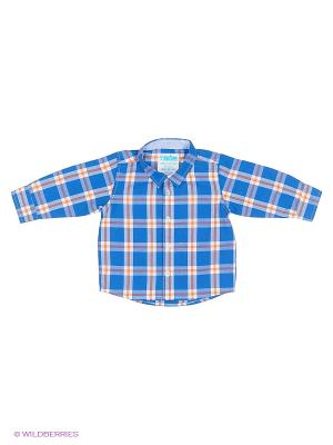 Рубашка ТВОЕ. Цвет: синий, оранжевый, белый