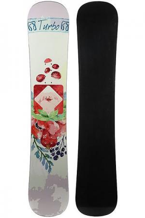 Сноуборд  Flower Multi Turbo-FB. Цвет: мультиколор