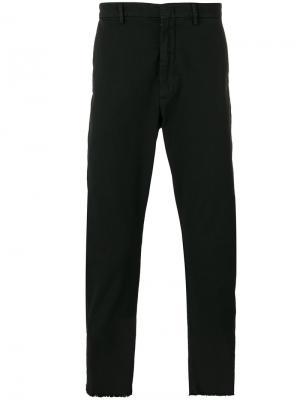 Укороченные брюки Baldo Pence. Цвет: чёрный