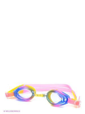 Очки Junior Aqua Mad Wave. Цвет: синий, розовый, желтый