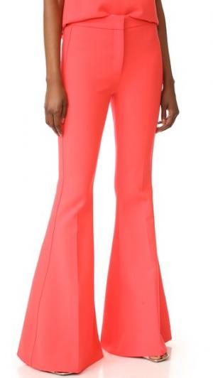 Расклешенные брюки Victoria Beckham. Цвет: оранжевый