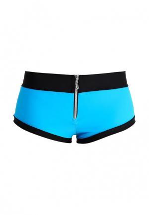 Шорты спортивные Dali. Цвет: синий