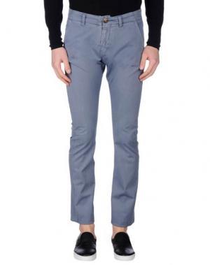 Повседневные брюки REIGN. Цвет: грифельно-синий