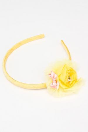Ободок NICE GIRL. Цвет: желтый