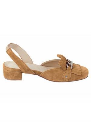 Туфли Andrea Conti. Цвет: серо-коричневый