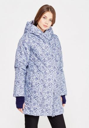 Куртка утепленная Budumamoy. Цвет: голубой