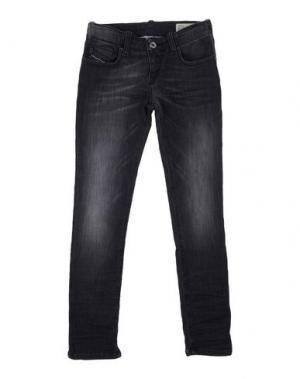 Джинсовые брюки DIESEL. Цвет: стальной серый