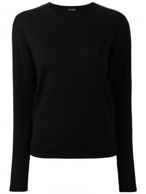 Кашемировый пуловер Iris Von Arnim. Цвет: чёрный