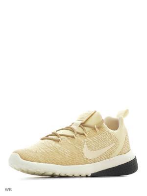 Кроссовки WMNS CK RACER Nike. Цвет: кремовый