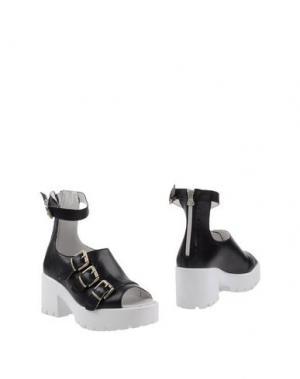 Полусапоги и высокие ботинки SWEAR-LONDON. Цвет: черный