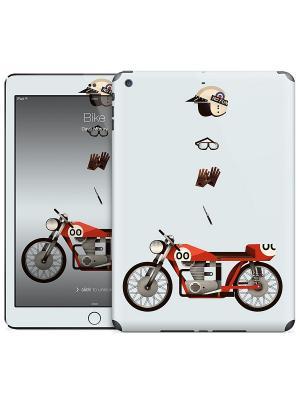 Наклейка на iPad Air Bike - Dave Murray Gelaskins. Цвет: светло-серый, красный