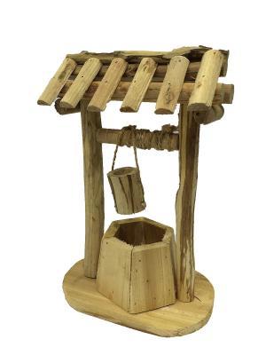 Фигура из дерева для сада и дома 1шт. Naturel. Цвет: бежевый