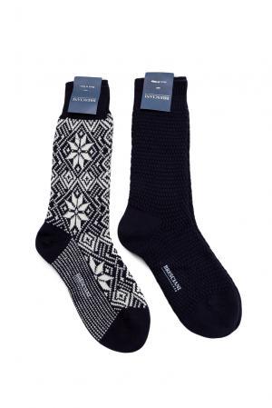 Комплект носков из шерсти 142861 Bresciani. Цвет: разноцветный