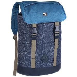 Рюкзак туристический  Track Pack Navy Billabong. Цвет: синий,голубой