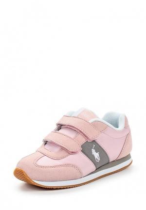 Кроссовки Polo Ralph Lauren. Цвет: розовый