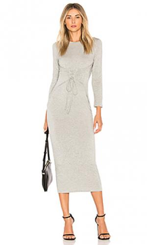 Платье kamil Clayton. Цвет: серый