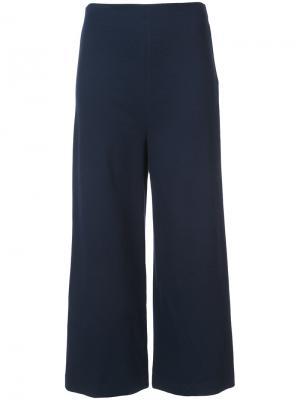 Укороченные брюки Rosetta Getty. Цвет: синий